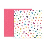 Paper #11 - Whimsical - Pink Paislee