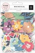 Whimsical Floral Ephemera - Pink Paislee