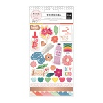 Sticker Book - Whimsical - Pink Paislee - PRE ORDER