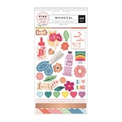 Sticker Book - Whimsical - Pink Paislee