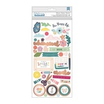 Icon Chipboard Thickers - Whimsical - Pink Paislee