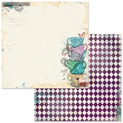 Adventures Paper - Land of Wonder - Bo Bunny - PRE ORDER