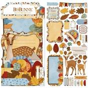 Noteworthy Embellishments - Beautifully Brisk - Bo Bunny