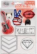 Rock-N-Roll - Pretty Twisted Patch DIY Kit