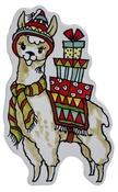 "Llama - Stampendous Mounted Stamp 2.5""X4"""