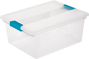 "14""X11""X6.25"" Clear - Sterilite Deep Clip Storage Box"