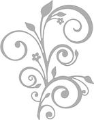 Elegant Flourish - Paper Rose Dies