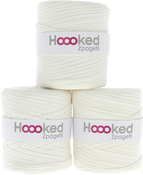 Ivory White - Hoooked Zpagetti Yarn
