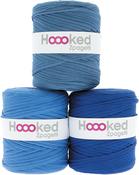 Ocean Blue - Mid Blue Shades - Hoooked Zpagetti Yarn