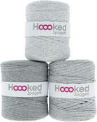 Sporty Gray - Medium Gray Shades - Hoooked Zpagetti Yarn