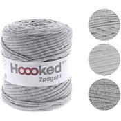 Sporty Gray - Medium Gray Shades - Hoooked Zpagetti Yarn