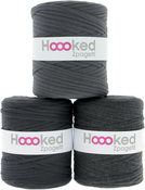 Anthracite Gray - Dark Gray Shades - Hoooked Zpagetti Yarn