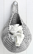 Medium Gray - Hoooked Storage Bag Yarn Kit W/Zpagetti Yarn