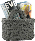 Anthracite - Hoooked Revisto Basket Kit W/Zpagetti Yarn