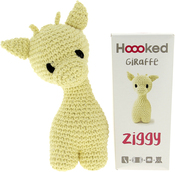 Popcorn - Hoooked Ziggy Giraffe Kit W/Eco Barbante Yarn