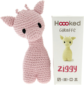Blossom - Hoooked Ziggy Giraffe Kit W/Eco Barbante Yarn