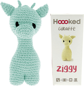 Spring - Hoooked Ziggy Giraffe Kit W/Eco Barbante Yarn