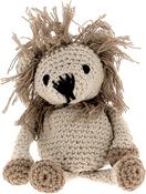 Beige & Taupe - Hoooked Lion Leroy Yarn Kit W/Eco Brabante Yarn