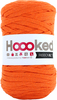 Dutch Orange - Hoooked Ribbon XL Yarn Hoooked-RibbonXL Yarn. Which of us doesn't love the thrill of a quick knit? RibbonXL is the lightweight chunky recycled yarn that adds a touch of style to all your fashion garments, accessories, and home decor! The glorious colors of the rainbow await your needles. Perfect for kitchen and home decor items. RibbonXL is an itch-free fabric yarn, it is slightly elastic and it knits very easy. Content: 100% recycled fibers (80% recycled cotton, 20% other). Putup: 8oz (250gr), 131yd (120m). Suggested knitting needle sizes US11 to US17. Suggested crochet hook sizes L to P. Care: Machine wash cold. Comes in a variety of colors. Each sold separately. Imported.