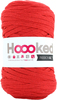 Lipstick Red - Hoooked Ribbon XL Yarn Hoooked-RibbonXL Yarn. Which of us doesn't love the thrill of a quick knit? RibbonXL is the lightweight chunky recycled yarn that adds a touch of style to all your fashion garments, accessories, and home decor! The glorious colors of the rainbow await your needles. Perfect for kitchen and home decor items. RibbonXL is an itch-free fabric yarn, it is slightly elastic and it knits very easy. Content: 100% recycled fibers (80% recycled cotton, 20% other). Putup: 8oz (250gr), 131yd (120m). Suggested knitting needle sizes US11 to US17. Suggested crochet hook sizes L to P. Care: Machine wash cold. Comes in a variety of colors. Each sold separately. Imported.
