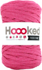 Bubblegum - Hoooked Ribbon XL Yarn Hoooked-RibbonXL Yarn. Which of us doesn't love the thrill of a quick knit? RibbonXL is the lightweight chunky recycled yarn that adds a touch of style to all your fashion garments, accessories, and home decor! The glorious colors of the rainbow await your needles. Perfect for kitchen and home decor items. RibbonXL is an itch-free fabric yarn, it is slightly elastic and it knits very easy. Content: 100% recycled fibers (80% recycled cotton, 20% other). Putup: 8oz (250gr), 131yd (120m). Suggested knitting needle sizes US11 to US17. Suggested crochet hook sizes L to P. Care: Machine wash cold. Comes in a variety of colors. Each sold separately. Imported.