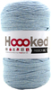 Powder Blue - Hoooked Ribbon XL Yarn Hoooked-RibbonXL Yarn. Which of us doesn't love the thrill of a quick knit? RibbonXL is the lightweight chunky recycled yarn that adds a touch of style to all your fashion garments, accessories, and home decor! The glorious colors of the rainbow await your needles. Perfect for kitchen and home decor items. RibbonXL is an itch-free fabric yarn, it is slightly elastic and it knits very easy. Content: 100% recycled fibers (80% recycled cotton, 20% other). Putup: 8oz (250gr), 131yd (120m). Suggested knitting needle sizes US11 to US17. Suggested crochet hook sizes L to P. Care: Machine wash cold. Comes in a variety of colors. Each sold separately. Imported.