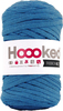 Imperial Blue - Hoooked Ribbon XL Yarn Hoooked-RibbonXL Yarn. Which of us doesn't love the thrill of a quick knit? RibbonXL is the lightweight chunky recycled yarn that adds a touch of style to all your fashion garments, accessories, and home decor! The glorious colors of the rainbow await your needles. Perfect for kitchen and home decor items. RibbonXL is an itch-free fabric yarn, it is slightly elastic and it knits very easy. Content: 100% recycled fibers (80% recycled cotton, 20% other). Putup: 8oz (250gr), 131yd (120m). Suggested knitting needle sizes US11 to US17. Suggested crochet hook sizes L to P. Care: Machine wash cold. Comes in a variety of colors. Each sold separately. Imported.