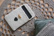 Sandy Ecru - Hoooked Tablet Cover Yarn Kit W/RibbonXL
