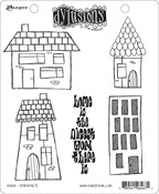 "Home - Dyan Reaveley's Dylusions Cling Stamp Collections 8.5""X7"""