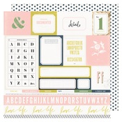 Easy Peasy Paper - Emerson Lane - Heidi Swapp