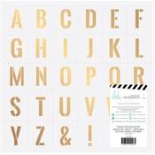 Stencil Vellum Sheet - Emerson Lane - Heidi Swapp