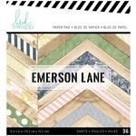 Emerson Lane 6 x 6 Paper Pad - Heidi Swapp