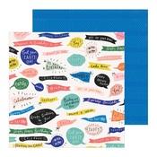 Woo Hoo Paper - Hooray - Crate Paper