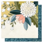 Goldenrod Floral Paper - Goldenrod - OneCanoeTwo