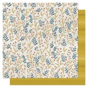 Meadow Floral Paper - Goldenrod - OneCanoeTwo