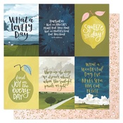 Golden Quotes Paper - Goldenrod - OneCanoeTwo