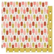Popsicles Forever Paper - Goldenrod - OneCanoeTwo