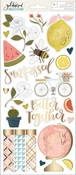 Goldenrod Gold Foil Stickers - OneCanoeTwo - PRE ORDER