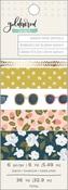 Goldenrod Washi Tape Set Of 6 - OneCanoeTwo - PRE ORDER