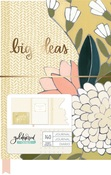 Goldenrod Die Cut Floral Journal - OneCanoeTwo