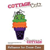 Halloween Ice Cream Cone CottageCutz Die