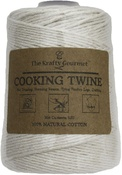 16 Ply - The Krafty Gourmet Natural 100% Cotton Cooking Twine 500'