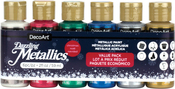 Christmas - Americana Dazzling Metallics Value Pack 6/Pkg