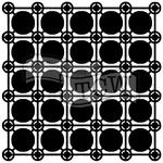 "Newport Tiles - Crafter's Workshop Template 12""X12"""