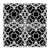 "Spanish Tile - Crafter's Workshop Template 12""X12"""