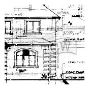 "Blueprint - Crafter's Workshop Template 12""X12"""
