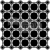 "Newport Tiles - Crafter's Workshop Template 6""X6"""
