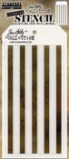 "Shifter Stripes - Tim Holtz Layered Stencil 4.125""X8.5"""