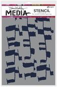 """Ladders - Dina Wakley Media Stencils 9""""X6"""""""