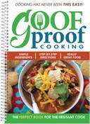 - Goof Proof Cooking Cookbook
